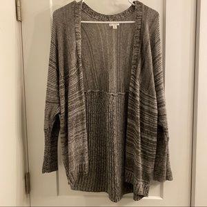 BP Gray XS sweater cardigan